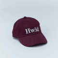 6 PANEL CAP - HW3D WINE FREE SIZE  #Homewardbound