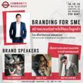 "ShopSpot Community Workshop Branding for SME "" สร้างแบรนด์ ยังไงให้ชนะใจลูกค้า วันอาทิตย์ที่ 16 ตุลาคม 2559  เวลา 13.00-16.30 น. ShopSpot Headquarter (BTS อารีย์)  วิทยากร : คุณไอซ์ ธีรศานต์ สหัสสพาศน์ – CEO & Founder at sodaprinting.com, JM Cuisine (เจ๊กเม้ง) – ควบตำแหน่งคณะทำงานรัฐมนตรีกระทรวงการท่องเที่ยวและกีฬา – วิทยากรและที่ปรึกษาด้าน Digital Marketing , Branding – เจ้าของหนังสือ ""ใจบันดาลแรง""  Brand Speaker GREY RAY : คุณชาญฉลาด กาญจนวงศ์ Gleamwood : คุณปิยะพร เชาวน์ดี  Buffalowing : คุณชาติชาย บำรุงธรรม"