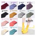 """#พร้อมส่ง #ถุงเท้า #ถุงเท้ายาว #ถุงเท้าสีพื้น >>>  #ohblablasocks  <<<  """" ถุงเท้ายาว ใส่แบบสั้นย่นๆเอาก็น่ารัก  หรือ ใส่แบบยาว ดึงถึงใต้เข่าก็ชิคน้า """"  📌📌 แจ้ง สีด้วยนะค้าา 📌📌  1 - ไวน์ 2 - ม่วงองุ่น  3 - น้ำเงิน 4 - ม่วงเข้ม  5 - เหลือง  6 - ดำ  7 - มัสตาร์ด 9 - ชมพูอ่อน 10 - แตงโม 11 - ครีม 12 - ฟ้า (น้ำทะเล)  13 - เทา   14 - เขียว ❌   ⊛ #👟 #สินค้าพร้อมส่ง ❝ #ohblablainstock ❞  ⊛ 📲 Line (official) :  @Ohblablashoes (มี@) 👟 IG : @OHBLABLA_SHOES"""
