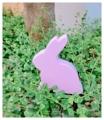 กระต่ายน้อยน่ารัก งานไม้สัก ทาสีไม้ด้วยสีอะคลีลิคสำหรับงานไม้ โทนสีชมพู ใช้สำหรับตกแต่งบ้านหรือเป็นพรอพถ่ายรูปได้ค่ะ  Size : สูง 12 cm. ยาว 10 cm. กว้าง 2.5 cm. Weight : 122 g. Price : 190 บาท