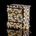 Storage Box กล่องเก็บเครื่องประดับ สีเหลือง รหัสสินค้า : 8298SB009650  ราคาสินค้า : 375 บาท ค่าจัดส่งประเภท EMS : 100 บาท รวมทั้งสิ้น : 475 บาท  รายละเอียดสินค้า - ผลิตจากผ้า canvas และเส้นใยธรรมชาติ - มีช่องใส่เครื่องประดับ 4 ช่อง - สำหรับใส่เครื่องประดับ และตกแต่งบ้าน - สีน้ำเหลือง - ขนาดสินค้า 20.5 x 14 x 21.5 ซม. - จำนวน 1 ชิ้น/แพ็ค  หมายเหตุ : สีของสินค้าที่ปรากฎ อาจมีความแตกต่างกันขึ้นอยู่กับการตั้งค่าของแต่ละหน้าจอ  **รอบระยะเวลาในการสั่งซื้อ-จัดส่ง - ตัดยอดทุกวันพฤหัสบดี เวลา 12.00 น. และจะจัดส่งให้วันอังคารของสัปดาห์ถัดไป ---------------------------------------------------------------- #CUSHY #PRIM #FNOUTLET #Cushy #Prim #Fnoutlet #fnoutlet #Storagebox #Storage #Box #Jewelry #Display #Canvas #แคนวาส #กล่องเก็บเครื่องประดับ #กล่องเครื่องประดับ #กล่องเพชร #ลัง #ถัง #กล่องกระดาษ #เครื่องประดับ #เพชร #พลอย #ต่างหู #แหวน #สร้อยคอ #ลายกราฟิก #กล่องไม้ #เท่ห์ #เก๋ #ลายไทย #ปัง #เว่อร์ #เป๊ะมาก #โบฮีเมียน #เกาหลี #ญี่ปุ่น #ชิค #ชิลๆ #ที่แขวนเครื่องประดับ #ราวแขวนเครื่องประดับ #ที่เก็บต่างหู #ที่เก็บสร้อย