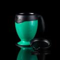 """MIGHTY MUG แก้วมัคทรงถ้วย (Mighty Mug Desk) สีเขียว รหัสสินค้า : 8301MMDGN011100  จะดีแค่ไหนถ้ามีแก้วน้ำดื่มที่ผลักแล้วไม่ล้ม จนทำให้น้ำหกเลอะเทอะไปทั่ว ไม่ว่าจะพกขึ้นรถ วางข้างกองเอกสาร หรือโน้ตบุ๊คที่เต็มไปด้วยข้อมูลสำคัญ เลิกกังวลได้ เพราะแก้ว Mighty Mug Desk ผลิตด้วยนวัตกรรม Smart Grip Technology ยึดติดได้ดีกับพื้นผิวเรียบทุกชนิด ผลักยังไงก็ไม่มีล้ม  - ผลิตจากพลาสติกปลอดสาร BPA (Bisphanol A) ซึ่งเป็นสารเคมีที่ใช้ในการผลิตขวดพลาสติกโดยทั่วไป ทำให้เกิดอาการผิดปกติทางพันธุกรรมและโรคมะเร็ง - ใช้นวัตกรรมที่เรียกว่า Smart Grip Technology เทคโนโลยีที่จดสิทธิบัตร เกี่ยวกับการป้องกันแก้วไม่ให้ล้ม ด้วยสโลแกน """"ผลักแล้วไม่ล้ม"""" - สามารถใส่ได้ทั้งน้ำร้อนและน้ำเย็น - ป้องกันน้ำหกเลอะเทอะขณะขับรถ - ขนาดบรรจุ 0.47 ล., 16 ออนซ์ - สีเขียว - ขนาดสินค้า เส้นผ่านศูนย์กลาง 9 ซม. สูง 13.5 ซม. - จำนวน 1 ใบ  คำแนะนำในการดูแลรักษา  - ทำความสะอาดด้วยเครื่องล้างจานได้  โดยวางไว้ชั้นบนสุด - ไม่ควรแช่น้ำทิ้งไว้เป็นเวลานาน  หมายเหตุ : สีของสินค้าที่ปรากฎ อาจมีความแตกต่างกันขึ้นอยู่กับการตั้งค่าของแต่ละหน้าจอ  ---------------------------------------------------------------- #CUSHY #PRIM #FNOUTLET #Cushy #Prim #Fnoutlet #fnoutlet #MightyMugDesk #Mug #SmartGrip #Technology #BPA #Cool #Cold #Ice #Hot #แก้วผลักไม่ล้ม #ผลักไม่ล้ม #แก้วมัค #แก้วน้ำดื่ม #แก้วน้ำร้อน #แก้วน้ำเย็น #แก้วกินน้ำ #แก้วร้อนเย็น #กระบอกกินน้ำ #กระบอกน้ำดื่ม #ขวดน้ำดื่ม #กินน้ำ #ดื่มน้ำ #แข็งแรง #ทนทาน #เท่ห์ #โอปป้า #โอป๊ะ #อุ๊ต๊ะ #เรียบหรู #สวยใส #เกาหลี #ญี่ปุ่น #ชิค #ชิลๆ #เก๋ #กิ๊บเก๋ #น่ารัก"""