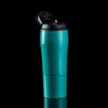 """MIGHTY MUG แก้วมัคทรงสูง (Mighty Mug Go) สีเขียว รหัสสินค้า : 8301MMGGN011300  จะดีแค่ไหนถ้ามีแก้วน้ำดื่มที่ผลักแล้วไม่ล้ม จนทำให้น้ำหกเลอะเทอะไปทั่ว ไม่ว่าจะพกขึ้นรถ วางข้างกองเอกสาร หรือโน้ตบุ๊คที่เต็มไปด้วยข้อมูลสำคัญ เลิกกังวลได้ เพราะแก้ว Mighty Mug Go ผลิตด้วยนวัตกรรม Smart Grip Technology ยึดติดได้ดีกับพื้นผิวเรียบทุกชนิด ผลักยังไงก็ไม่มีล้ม  - ผลิตจากพลาสติกปลอดสาร BPA (Bisphanol A) ซึ่งเป็นสารเคมีที่ใช้ในการผลิตขวดพลาสติกโดยทั่วไป ทำให้เกิดอาการผิดปกติทางพันธุกรรมและโรคมะเร็ง - ใช้นวัตกรรมที่เรียกว่า Smart Grip Technology เทคโนโลยีที่จดสิทธิบัตร เกี่ยวกับการป้องกันแก้วไม่ให้ล้ม ด้วยสโลแกน """"ผลักแล้วไม่ล้ม"""" - สามารถใส่ได้ทั้งน้ำร้อนและน้ำเย็น - ป้องกันน้ำหกเลอะเทอะขณะขับรถ - ขนาดบรรจุ 0.47 ล., 16 ออนซ์ - สีเขียว - ขนาดสินค้า เส้นผ่านศูนย์กลาง 8 ซม. สูง 22.3 ซม. - จำนวน 1 ใบ  คำแนะนำในการดูแลรักษา  - ควรล้างและเช็ดให้แห้งทันทีทุกครั้งหลังการใช้งาน - ทำความสะอาดด้วยเครื่องล้างจานได้  โดยวางไว้ชั้นบนสุด - ไม่ควรแช่น้ำทิ้งไว้เป็นเวลานาน  หมายเหตุ : สีของสินค้าที่ปรากฎ อาจมีความแตกต่างกันขึ้นอยู่กับการตั้งค่าของแต่ละหน้าจอ  ---------------------------------------------------------------- #PRIM #CUSHY #FNOUTLET #Cushy #Prim #Fnoutlet #fnoutlet #MightyMugGo #Mug #SmartGrip #Technology #BPA #Cool #Cold #Ice #Hot #แก้วผลักไม่ล้ม #ผลักไม่ล้ม #แก้วมัค #แก้วน้ำดื่ม #แก้วน้ำร้อน #แก้วน้ำเย็น #แก้วร้อนเย็น #แก้วกินน้ำ #กระบอกกินน้ำ #กระบอกน้ำดื่ม #ขวดน้ำดื่ม #กินน้ำ #ดื่มน้ำ #แข็งแรง #ทนทาน #เท่ห์ #โอปป้า #เรียบหรู #สวยใส #เกาหลี #ญี่ปุ่น #ชิค #ชิลๆ #เก๋ #กิ๊บเก๋ #น่ารัก"""