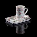 **ราคาปกติ 960 บาท  Mug Set ชุดแก้วเซรามิค ขนาด 9 ออนซ์ C351 รหัสสินค้า : 8143CP023480  - แก้ว จานรองแก้ว และช้อน ผลิตจากเซรามิคลายกุหลาบ เคลือบเงาสวยงาม - ถาดรองผลิตจากเมลามิน 100% ทนทาน ตกไม่แตก - ผ่านการรับรองจาก USA FDA test and European 84/500/EEC andits amendment 2005/31/EC European council directive - สามารถใช้ใส่เครื่องดื่ม และอาหารต่างๆ ได้ - ขนาดบรรจุ 9 ออนซ์ - สีฟ้า/ขาว - จำนวน 1 ชุด/แพ็ค  อุปกรณ์ภายในชุด  - แก้วเซรามิค ขนาดเส้นผ่านศูนย์กลาง 7.5 ซม. สูง 10.5 ซม. - จานรองแก้วเซรามิค ขนาดเส้นผ่านศูนย์กลาง 10 ซม. - ช้อนเซรามิค ขนาดความยาว 12.7 ซม. - ถาดเมลามิน ขนาดความกว้าง 14.2 ซม. ยาว 22 ซม.  คำแนะนำในการดูแลรักษา  - ควรล้างทุกครั้งก่อนการใช้งาน - หลังจากทำความสะอาดควรเก็บในที่แห้ง - ห้ามทำความสะอาดด้วยเครื่องล้านจาน (ยกเว้นถาดเมลามิน) - ห้ามนำเข้าไมโครเวฟ  หมายเหตุ : สีของสินค้าที่ปรากฎ อาจมีความแตกต่างกันขึ้นอยู่กับการตั้งค่าของแต่ละหน้าจอ  **รอบระยะเวลาในการสั่งซื้อ-จัดส่ง - ตัดยอดทุกวันพฤหัสบดี เวลา 12.00 น. และจะจัดส่งให้วันอังคารของสัปดาห์ถัดไป ---------------------------------------------------------------- #CUSHY #PRIM #FNOUTLET #Cushy #Prim #Fnoutlet #fnoutlet #Mug #Glass #Glasses #Ceramic #Storng #Cool #Clod #Ice #Hot #แก้วมัค #แก้ว #เซรามิค #แก้วเซรามิค #แก้วน้ำ #แก้วร้อนเย็น #แก้วดื่มน้ำ #ลายไทย #เครื่องสังคโลก #ลายดอกไม้ #แข็งแรง #ทนทาน #เท่ห์ #โอปป้า #โอป๊ะ #อุ๊ต๊ะ #เรียบหรู #สวยใส #เกาหลี #ญี่ปุ่น #ชิค #ชิลๆ #เก๋ #กิ๊บเก๋ #น่ารัก