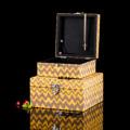 Storage Box กล่องเก็บเครื่องประดับ 2 ชิ้น สีเหลือง รหัสสินค้า : 8298SB040750  ราคาสินค้า : 430 บาท ค่าจัดส่งประเภท EMS : 100 บาท รวมทั้งสิ้น : 530 บาท  รายละเอียดสินค้า - ผลิตจากผ้า canvas และเส้นใยธรรมชาติ - มีช่องใส่เครื่องประดับ 1 ช่อง - สำหรับใส่เครื่องประดับ และตกแต่งบ้าน - สีเหลือง - ขนาดสินค้า (กล่องเล็ก) 17.8 x 19.3 x 9 ซม. - ขนาดสินค้า (กล่องใหญ่) 22 x 24 x 11.8 ซม. - จำนวน 2 ชิ้น/แพ็ค  หมายเหตุ : สีของสินค้าที่ปรากฎ อาจมีความแตกต่างกันขึ้นอยู่กับการตั้งค่าของแต่ละหน้าจอ  ---------------------------------------------------------------- #CUSHY #PRIM #FNOUTLET #Cushy #Prim #Fnoutlet #fnoutlet #Storagebox #Storage #Box #กล่องเก็บเครื่องประดับ #กล่องเครื่องประดับ #กล่องเพชร #ลัง #ถัง #กล่องกระดาษ #เครื่องประดับ #เพชร #พลอย #ต่างหู #แหวน #สร้อยคอ #ลายกราฟิก #กล่องไม้ #เท่ห์ #เก๋ #ลายไทย #ปัง #เว่อร์ #เป๊ะมาก #โบฮีเมียน #เกาหลี #ญี่ปุ่น #ชิค #ชิลๆ