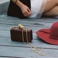 Color: brown wood    #peeht #women #ผู้หญิง #กระเป๋า #กระเป๋าผู้หญิง #กระเป๋าสะพาย #กระเป๋าไม้