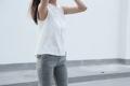 White Linen - Tank top shirt  material : Linen fabric color: White price : 590  #เสื้อผ้าผู้หญิง #เสื้อผู้หญิง #เสื้อแขนกุด #เสื้อสีขาว _