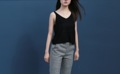 Knit - Black color : black Price: 390 THB  ------------------------------------------------------ #iwearthefoxplanet #ผู้หญิง #women #เสื้อแขนกุด #เสื้อกล้าม #เสื้อสีดำ #สีดำ