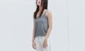 Knit - Light Grey color : light grey Price: 390 THB  #iwearthefoxplanet #เสื้อผ้าผู้หญิง #เสื้อผู้หญิง #เสื้อสายเดี่ยว #สายเดี่ยว  _