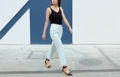 Mint Trousers color: mint price : 790 THB  #กางเกง #กางเกงขายาว #กางเกงผู้หญิง #กางเกงผู้หญิงขายาว #กางเกงขายาวผู้หญิง _