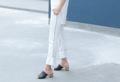White - stashing line Pant material : cotton spendex facbric color: white  #กางเกง #กางเกงขายาว #กางเกงผู้หญิง #กางเกงผูุ้หญิงขายาว #กางเกงขายาวผู้หญิง #กางเกงสีขาว _