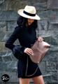 - Genuine leather frame bag (กระเป๋าสะพายหนังวัวแท้) - Size 30x25x6 cm  - Shiny black frame (ปากกระเป๋าเป็นเฟรมสีดำเงา) - Big compartment inside; 1 zip pocket and 2 phone pockets (ภายในบุผ้า มีช่องซิป 1 ช่องและ ช่องมือถือ 2 ช่อง) - Removable strap (สายสะพายถอดออก ถือเป็นคลัชได้) - Product guarantee card (พร้อมใบรับประกันสินค้า) - Linen cloth bag (พร้อมถุงผ้าลินินอย่างดี) #SIRIYANEEBRAND