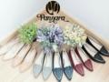 👠 Point Flat Shoes 👠 Original Handmade Sheepskin Flat Shoes  ✔Color: Pink -- Nude -- Grey -- Dark Blue -- Red -- Black (left to right) ✔Size: 35-40 ✔Price: 1740.-  ------------------------------------------------------------  🎉สินค้าไซต์ไม่พอดี เปลี่ยนไซต์ได้คะ 🎉ส่ง EMS ฟรีทุกคู่ ------------------------------------------------------------