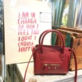 MB01 :: red ● Imported pu saffiano ● size : 18*16.2 cm ● shoulder strap     #Millybags
