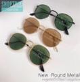 👓แว่นกันแดดทรง Round Metal เลนส์กระจก งานดี กัน UV400 น้ำหนักเบา ใส่ได้ทั้งชายหญิงเลยค่ะ  👓สี : ดำ-ทอง | ชา-ทอง | ดำ-ดำ  👓ขนาด  : 130 mm | 50-48-140 mm  👓ราคา 290 บาท  🌟แถมซองใส่แว่น พร้อมผ้าเช็ดเลนส์ ✅ส่งฟรีแบบลงทะเบียน 🚚ส่งแบบ Ems +20 บาท  #แว่นกันแดด #แว่นกันแดดทรงกลม #แว่นเลนส์กระจก #เลนส์กันUV400 #Shoptome&Shoptoyou