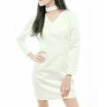 ชื่อสินค้า : Deep V Dress  รหัสสินค้า : BNKDS01 แซ่บอะไรเบอร์นั้นนนนน !! เป๊ะปังกับ Deep V Dress item อีกตัวหนึ่งที่ทางแบรนด์ตั้งใจทำมากๆ เดรสคอวี รัดรูป โชว์สัดส่วน แต่งซิปทองยาวด้านหลัง สวยหรูดูแพงบอกเลย 🔥  #เสื้อผ้าผู้หญิง #dress #เดรส #เดรสสั้น #เดรสแขนยาว #แขนยาว .