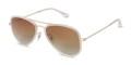 GQSun-034 Price: THB 3,990 UV 400 Sunglasses Lens  แว่นกันแดดสไตล์ aviator ดีไซนน์มีขอบสีและมีเลนส์กันแดด UV400 ที่มีสีที่เข้ากัน ทำจากวัสดุคุณภาพดีที่มีน้ำหนักเบา  Frame Size: 55□18-140○50 Frame Width: L (140 MM) Weight: 16 g   ตัวเลือกสี : Gold ผิววัสดุ : Matte ทรง : Aviator/Pilot, Drop กรอบแว่น : Full Rim วัสดุ : Titanium  #GLAZZIQ #Eyewear #Sunglasses #แว่นตา #แว่น #แว่นกันแดด
