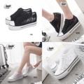 🌸ราคา 550฿ !!New Women's Sneaker!! จากความชื่นชอบของสาวๆที่มีต่อเทรนด์แฟชั่นแบบสปอร์ต ทางร้านขอนำแนะนำ รองเท้าผ้าใบแฟชั่น สไตล์เกาหลี สวมใสในวันสบายๆ ของสาวๆ  วัสดุผ้าตาข่ายซีทรูลูกไม้ ระบายอากาศ ไม่ร้อนไม่อับเท้า  พื้นยางนุ่มใส่สบาย แต่งเลื่อม สวยหรูดูดี มีเสน่ห์ เหมาะกับการใส่เข้ากับลุคลำลอง เป็นที่สุด  มี 2 สี  ขาว , ดำ  ความสูงพื้น 1.5 นิ้ว  รหัสสินค้า : SN550833 ราคา 550 บาท (EMS +70) **ภาพมีการปรับแต่งแสงเพื่อความสวยงาม อาจมีผิดเพี้ยนจากสีจริงเล็กน้อย** 📲สนใจสั่งซื้อได้ที่ Line id : iamlady11 👌พร้อมโอนค่อยทักมา🙏 แคปรูปติดราคา มาด้วยค่ะ  #ladiihouseshoes #รองเท้าดารา #ขายดี #แฟชั่น #เซเลป #รองเท้า #รองเท้าสวย #รองเท้าผ้าใบ #รองเท้าส้นเตี้ย #รองเท้าลูกไม้ #รองเท้าส้นสูงรัดข้อวัสดุผ้ากำมะหยี่ #รองเท้านำเข้า #รองเท้าเพื่อสุขภาพ #รองเท้าราคาถูก #รองเท้าส้นสูง #รองเท้าขายดี #รองเท้าราคาถูก #รองเท้าSale #Sale #รองเท้าคัชชู #รองเท้าสีดำ #รองเท้าคัชชูสีดำ #รองเท้าแฟชั่น#shoe#shoes#shoeslady#fashionista#instathailand#instagram #Ladiihouse