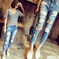"MissWanna มาเพิ่มค่ะ Boyfriend jeans กางเกงยีนส์ทรงboyสีฟอกสวย ขาดเซอร์ ปลายขาตัด ใส่พับขาหรือปล่อยๆได้หมด ทรงสวยใส่ได้ตลอดเลยค่ารุ่นนี้  color : ยีนส์ฟอก  size S เอว(waist) 25"" สะโพก(hip) 34"" เป้า(crotch) 10"" ยาว(length) 35""  M เอว(waist) 27"" สะโพก(hip) 36"" เป้า(crotch) 10"" ยาว(length) 35""  L เอว(waist) 29"" สะโพก(hip) 38"" เป้า(crotch) 10"" ยาว(length) 35""  XL เอว(waist) 31"" สะโพก(hip) 40"" เป้า(crotch) 10"" ยาว(length) 35""   #Clothmaker"