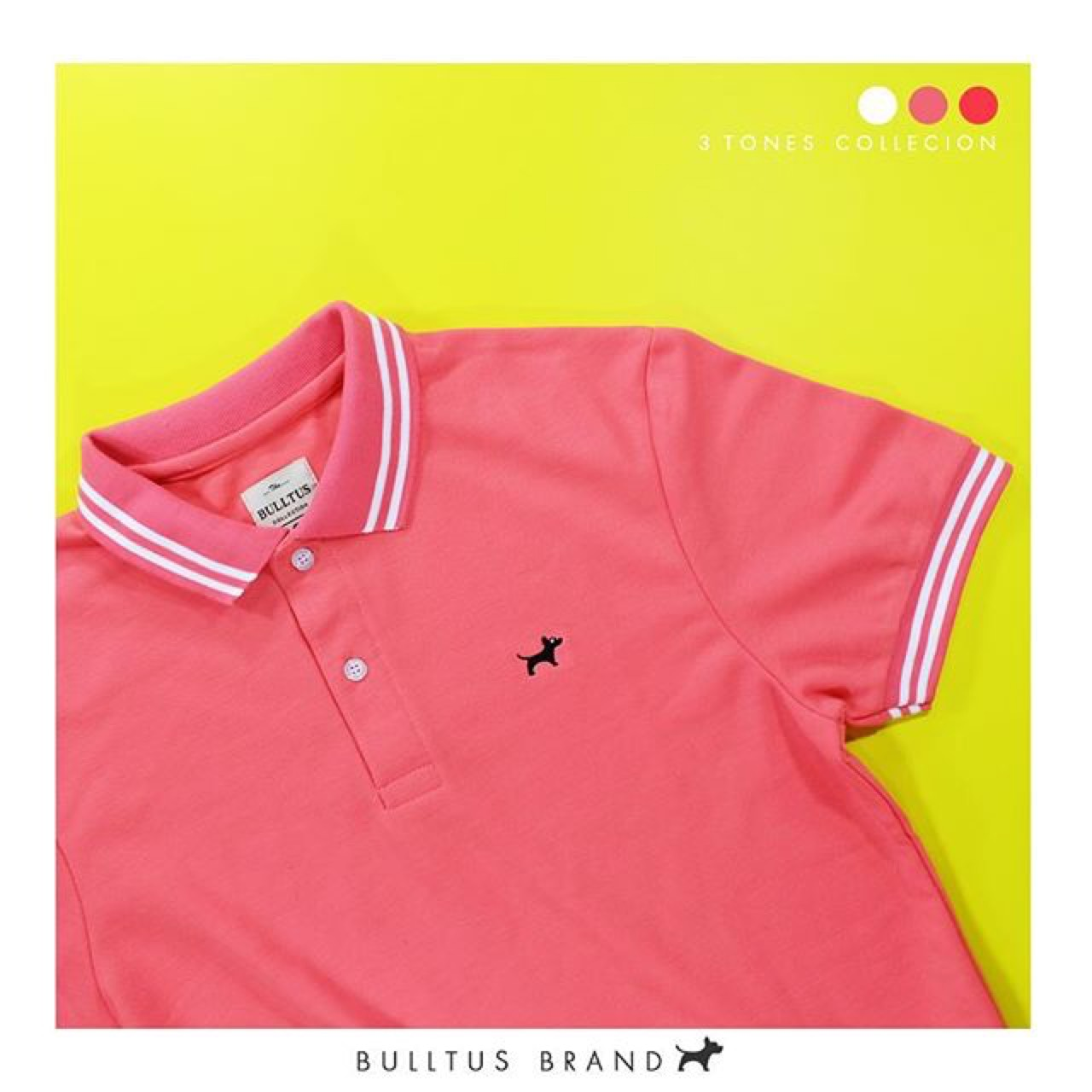 PinkColor,ลองเพิ่มสีสันด้วย,Polo,Poloshirt,Shirt,Bulltus,BulltusBrand,PoloBilltus