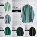 "MorF's Oxford Long Sleeve Shirt เสื้อเชิ้ต แขนยาว โทนสีเขียว ทรงสลิมฟิต ตัดเย็บอย่างดี จากผ้า Oxford ลักษณะเนื้อผ้ากึ่งลำลองกึ่งทางการ แมชได้กับทุกชุด รีดอย่างง่าย ยับอย่างยาก   Size: S,M,L,XL  S - Chest 38"" Length 29"" M - Chest 40"" Length 30"" L - Chest 42"" Length 31"" XL - Chest 44"" Length 32""  สอบถามรายละเอียดเพิ่มเติมได้นะคะ  แอดมินยินดีตอบทุกคำถามค่า ^^  #เสื้อเชิ้ต #เสื้อทำงาน #งานแต่งงาน #พาสเทล #pastel #เขียว #มิ้นท์ #สีเขียว #สีเขียวเข้ม #สีเขียวขี้ม้า  #MorfClothes"