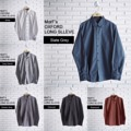 """MorF's Oxford Long Sleeve Shirt เสื้อเชิ้ต แขนยาว  ทรงสลิมฟิต ตัดเย็บจากผ้า Oxford ลักษณะเนื้อผ้ากึ่งลำลองกึ่งทางการ แมชได้กับทุกชุด รีดอย่างง่าย ยับอย่างยาก   Size: S,M,L,XL  S - Chest 38"""" Length 29"""" M - Chest 40"""" Length 30"""" L - Chest 42"""" Length 31"""" XL - Chest 44"""" Length 32""""  สอบถามรายละเอียดเพิ่มเติมได้นะคะ  แอดมินยินดีตอบทุกคำถามค่า ^^   #เสื้อเชิ้ต #เสื้อทำงาน #เสื้อนักศึกษา #ขาวดำ #เสื้อขาว #เทา #minimal #monochrome #น้ำตาล #ฟ้า #MorfClothes"""