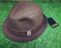 หมวกคอนเวิร์สทรงFedora บอดี้สีน้ำตาลเข้มคาดหนังPUปั๊มลายดาวสวยงาม ราคาป้าย750฿ สภาพใหม่ไม่ได้ใช้  ขายที่600.-THB ส่งลทบ.50฿ Line nudtys IG a_1920s  #A1920s