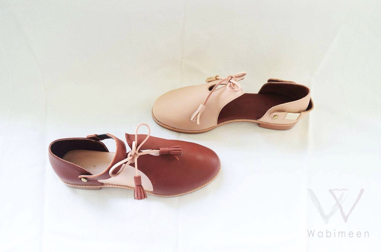 wabimeen,shoes,brand,handmade,Wabint,รองเท้า,รองเท้าผู้หญิง,รองเท้าหุ้มส้น