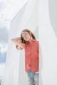 Style ▸ ORIGINAL // Women shirt // Straight fit - Sleeveless  Embroidery ▸ Origami raccoon  Color ▸ Red  Material ▸ Made of 100% cotton, high quality and comfortable to wear. Decorated with Genuine wooden buttons and chest embroidery.  Model ▸ is wearing size S  Size chart ▸ https://dl.dropboxusercontent.com/u/66218545/pk_size_lessnew-01.jpg  Made by ✂ Imported fabric mostly from Japan and Korea, Manufacturing in Thailand  ----------------------------------------------------------------  ⟁⟁⟁⟁ ABOUT SHIPMENT ⟁⟁⟁⟁  ทางร้านจัดส่งสินค้าทุกวันอังคาร และศุกร์ โดยประมาณนะคะ เนื่องจากสินค้าบางชิ้นมีของอยู่ที่หน้าร้าน ทางจตุจักรเปิดให้เข้าในวันธรรมดาเพียงไม่กี่วัน ดังนั้นจึงจะต้องขอเวลาเข้าไปเอาสินค้า และจัดส่งเป็นอีกวันนึงแทนค่ะ  หากลูกค้ารีบใช้สินค้า เนื่องในโอกาสพิเศษต่างๆ ที่จำเป็นต้องได้รับสินค้าภายในวันที่กำหนดเท่านั้น ทางร้านต้องขอรบกวนสั่งสินค้าล่วงหน้าอย่างน้อย 1 สัปดาห์นะคะ เพื่อที่จะได้เตรียมสินค้า และจัดส่งได้ตรงตามเวลา  หากลูกค้ารีบใช้สินค้า และไม่แน่ใจว่าทางร้านสามารถจัดส่งให้ทันหรือไม่ รบกวนติดต่อสอบถามวันส่งของกับทางร้านก่อนนะคะ สามารถกดสั่งซื้อ และกดส่งข้อความทางเวบไซต์เพื่อสอบถามได้เลย   ขอบคุณค่ะ :)