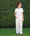 "aper Suit🔍 Size S: chest 34"", hip 37"", length 55"" Size M: chest 36"", hip 39"", length 55"" Price : 850 baht . Hanako fabric ซิปหลัง มีซับในทั้งตัว ไม่โป๊แน่นอนค่าาา ."