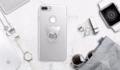 iBear Case with Holder  for iPhone 6/6s , 6/6sPlus , 7/7Plus  เคสคลุม 360 องศา บางเฉียบเพียง 8.5 mm. มาพร้อม Holder รูปหมีน้อยน่ารัก เพิ่มความถนัดในการจับ หรือใช้ตั้งให้ได้องศาในการชมซีรี่ย์ก็สะดวกสบายไม่น้อย   สี: สีเงิน  ราคา 290 บาท ส่งฟรี EMS