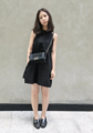 Dear Summer in midnight color is now available.  Size S/M/L  Price 1090 THB Color โบว์สีขาว/ โบว์สีดำ  -------------------------------------------------------- #women #ผู้หญิง #เสื้อผ้าผู้หญิง #dress #เดรส #เดรสแขนกุด