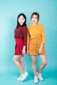 "NEW!! wynn crop top เสื้อครอป ผ้ายืดอย่างดี คัตติ้งเป๊ะ ใส่ได้ทุกวัน ตัวนี้สาวๆควรมีติดตู้ไว้น้าาาาา color :  แดงเลือดหมู, เหลืองมัสตาร์ด fabric : cotton100% size : freesize (chest 42"" length16.5"") price 270 THB (2ตัว500)  หากสนใจสั่ง 2 ตัว สามารถเปลี่ยนตัวเลือกสินค้าเป็น 2 ตัวได้นะคะ"