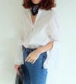 "AW046 Classy shirt  เสื้อเชิ้ตกระดุมหน้าทรงสวย ผ้าcottonใส่สบาย แบบไม่ซ้ำใครด้วยดีเทลแขนพลีท2เลเยอร์ มีความสุภาพและแฟชั่นใน้วลาเดียวกัน ควรมีติดตู้ไว้ใส่คู่กับกระโปรงหรือกางเกงก็ดูดีทุกแบบ  Size: freesize อก36"" ความยาว24"" Color: white / black Price: 690THB  ______________________________________  #ผู้หญิง#Women #เสื้อเชิ้ต#เสื้อเชิ้ตผู้หญิง #shirt#Oxford #เสื้อเชิ้ตแขนยาว#เสื้อเชิ้ตคอปก #เสื้อสีขาว#สีขาว#เสื้อเชิ้ตสีขาว#สีดำ#เสื้อสีดำ#เสื้อเชิ้ตสีดำ"