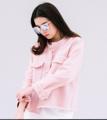 "Hottest item💕Pony Jacket in pink ♡♡♡ Available in Two colors White & Pink kaaa (1,090.-) Free size na jaaa Order dai loeiii ღ°☆  Pony Jacket Free size: Bust up to 40"" Length 25"" Color: White, Pink Detail: ตัวนี้ไม่ต้องพูดถึง แค่ลงรูปpreview ก็หมดไปเกินครึ่งแล้วค่าาา > < แจ๊กเกตผ้ายีนส์สีขาวกับสีชมพู สีชมพูเป็นชมพูที่น่ารักมากจริงๆ แต่งขอบชายรุ่ยที่คอ ข้อมือ และ ชายเสื้อ เอาไปใส่กับขาสั้น ขายาว กระโปรง เดรส ได้หมดเลยย  Price: 1,090.-"
