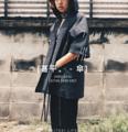 [甚平。 - 傘] : JINBEI - kasa : JINBEI with hoodie : 1,590 B free ems shipping : available 2 colours : dark grey / blue jeans