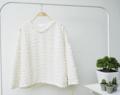 เสื้อ Sweater : เสื้อแขนยาว ตุ้มหิมะหนาพิเศษ (free size รอบอก 40-45) สีขาว , สีดำ  ราคา : 200 THB