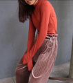 "AW049 Velvet pleated pants  New!!! กางเกงอัดพีท Vintage style ผ้ากำมะหยี่ลูกฟูก ผ้าสวยอัดพีทเกาหลีเนื้อดี คุณภาพเน้นๆ ใส่สบาย งาน cutting สวย จัดไป  Size: freesize เอว 25-28"" สะโพก 35-38"" Color: gray/brown/black Price: 650THB                                        #ผู้หญิง#Women #กางเกงขายาว#กางเกงขายาวผู้หญิง #pants #กางเกงขากระบอก#กางเกงพลีท#กางเกงพลีทขายาว #กางเกงสีดำ#กางเกงสีเทา#กางเกงสีน้ำตาล#สีดำ#สีเทา#สีน้ำตาล"