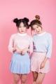 "NEW!! candy highneck เสื้อคอสูงรุ่นขายดีของร้าน มาพร้อมสีพาสเทลน่ารักๆ ใช้ผ้ายืดอย่างดี คัตติ้งเป๊ะ ใส่ได้ทุกวัน ตัวนี้สาวๆควรมีติดตู้ไว้น้าาาาา color : blue stripe , pink stripe fabric : cotton100% size : freesize (chest 36"" length22"") price 270 THB (2ตัว500)"