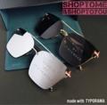 ☘แว่นกันแดดทรงเหลี่ยม เลนส์กัน UV400 เกรด Premium แต่งขาแว่นลายธง ใส่ได้ทั้งชายและหญิง  ☘สี : ปรอทเงิน / ดำ  ☘ขนาด  : 140 mm : 60-50-140 mm  ☘ราคา 450 บาท  🌟พร้อมซองหนัง และผ้าเช็ดเลนส์ ✅ส่งฟรีแบบลงทะเบียน 🚚ส่งแบบ Ems +20 บาท  #แว่นกันแดด #เลนส์ปรอท #เลนส์สีบาง #uv400 #ทรงเหลี่ยม #Shoptome&Shoptoyou