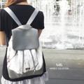 !!! New Arrival 2016 !!!  ❤️ Marble Backpack Collection ❤️ ❤️กระเป๋าผ้าพิมพ์ลายหินอ่อนสุด Intrend แนว minimal ผสม Premium PU อย่างดี สำหรับการแต่งตัวสบายๆ แต่ดูหรูหรา classic ทันสมัย สายมี 2 แบบ แบบสายสั้น และยาว เหมาะกับการใช้งานที่หลากหลาย กระเป๋ามีซิป Nylon ykk และมีซับใน พร้อมช่องซิป 1 ช่องสำหรับใส่ของ อะไหล่สีเงินแข็งแรงทนทาน มีให้เลือก 2 แบบ ผสมหนังสีเทากับดำ  Material: PU+Canvas Size: W25*H34.5*D15 cm. Detail: 1 pocket inside Color: Black & Grey
