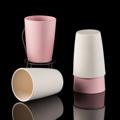 CUSHY ชุดแก้ว ขนาด 400 มล. 4 ชิ้น (Bamboo Fibre Tumbler) รหัสสินค้า : 8325BF007280  แก้วน้ำจากเส้นใยไผ่ (Bamboo Fibre) ไม่เป็นอันตรายต่อสุขภาพ และสิ่งแวดล้อม ทนต่อความร้อนและเย็น ที่มีอุณหภูมิตั้งแต่ -20 ถึง 70 องศาเซลเซียส จึงใช้งานได้ยาวนานไม่กรอบหรือแตกหักง่าย และยังพกติดตัวสบายด้วยน้ำหนักที่เบา ให้คุณพกติดไว้ดื่มน้ำเย็นๆ เวลาเดินทางท่องเที่ยวตามสถานที่ต่างๆ ได้  - ผลิตจากเส้นใยไผ่ (Bamboo Fibre) ตกไม่แตก ไม่เป็นอันตรากับเด็กเล็ก - ปลอดภัยจากสารเคมี ไม่มีสารพิษตกค้าง - BPA Free ปราศจากสารก่อมะเร็ง ไม่เป็นอันตรายต่อสุขภาพ - ช่วยลดกลิ่นอับตกค้างบนภาชนะ ทำให้น่าหยิบจับใช้งาน - ใส่ได้ทั้งน้ำร้อนและน้ำเย็น ที่มีอุณหภูมิตั้งแต่ -20 ถึง 70 องศาเซลเซียส - สีชมพู/ขาว - ขนาดสินค้า เส้นผ่านศูนย์กลาง 7.7 ซม. สูง 11 ซม. - จำนวน 4 ชิ้น/ชุด  คำแนะนำในการดูแลรักษา  - หลังการใช้ทำความสะอาดด้วยน้ำยาทำความสะอาดอ่อนๆ แล้วเช็ดให้แห้งทันที - นำเข้าเครื่องล้างจานได้ - ควรวางให้ห่างจากเปลวไฟ - ห้ามใช้กับเตาไมโครเวฟ  หมายเหตุ : สีของสินค้าที่ปรากฎ อาจมีความแตกต่างกันขึ้นอยู่กับการตั้งค่าของแต่ละหน้าจอ  **รอบระยะเวลาในการสั่งซื้อ-จัดส่ง - ตัดยอดทุกวันพฤหัสบดี เวลา 12.00 น. และจะจัดส่งให้วันอังคารของสัปดาห์ถัดไป ---------------------------------------------------------------- #CUSHY #FNOUTLET #Cushy #Fnoutlet #Bamboo #Fiber #Tumbler #BPA #Cool #Cold #Ice #Hot #ไม้ไผ่ #ไฟเบอร์ #แก้วน้ำ #เยื่อไม้ไผ่ #เยื่อไผ่ #แก้ว #ต้นไผ่ #ดื่มน้ำ #แก้วกินน้ำ #แก้วดื่มน้ำ #กินน้ำ #ตักน้ำ #แก้วมัค #ทนทาน