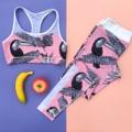 เซ็ทสปอร์ตบรา+เลกกิ้ง เข้าชุดน่ารักสุดๆ  รุ่นWild Toucan Mesh Set 2,350 บาท *ฟรีค่าจัดส่ง  Size: S / M / L 💥ด่วน สินค้ามีจำนวนจำกัด‼️  Details: ❤️สปอร์ตบรา เป็นชุดออกกำลังกายสำหรับผู้หญิง ดีไซน์ด้านหน้าทรงหัวใจ 💛สายบราเป็นเนื้อผ้าตาข่ายสีขาว ช่วยเพิ่มการระบายเหงื่อให้ดีเยี่ยมยิ่งขึ้น และกระชับซัพพอร์ทหน้าอกได้ดี 👉 มีฟองน้ำ ถอดออกได้  ใส่คู่กับ  ❤️กางเกงเลกกิ้งดีไซน์ขอบเอวด้านหลังโค้งตัวV ที่ช่วยเน้นสรีระสาวๆให้ดูสวยขึ้น 💛ขากางเกงด้านข้างออกแบบด้วยเนื้อผ้าตาข่ายสีขาวซึ่งเพิ่มลุ๊คให้ดูสปอร์ตและเท่ห์ยิ่งขึ้น และยังช่วยเพิ่มการระบายเหงื่อให้ดีเยี่ยม   👉 ช่องใส่เหรียญ/กุญแจที่ขอบเอวด้านหน้า 👉 เป้ากางเกงสามเหลี่ยม มั่นใจทุกกิจกรรม 👉 เนื้อผ้า ไนลอน/สแปนเด็กซ์  👉 เอว Mid-rise  ------------------------------------ Size: Bra S: รอบอก 31-33 นิ้ว M: รอบอก 34-36 นิ้ว L: รอบอก 37-39 นิ้ว ------------------------------------  Size: Leggings S: สะโพก 34-37นิ้ว M: สะโพก 38-41นิ้ว L: สะโพก 42-45นิ้ว ------------------------------------  #sportbra #สปอร์ตบรา #ชุดชั้นในกีฬาผู้หญิง #ชุดออกกำลังกาย
