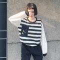"""#ALL_ALL2401 ✅220.- (ส่งฟรี) . Girls Striped  เสื้อลายทาง ใส่ยังไงก้อไม่เบื่อ แบบน่ารัก ทรงดี ควรมรไว้นะคร้า . ✅220.- (ส่งฟรี) #ALL_ALL2401 . ขาว-แดง / ขาว-ดำ . อก 38"""" ยาว 24"""" . 🔰ส่งของเฉพาะ จ พ ศ 🔰เสื้อผ้า ส่งฟรี!! แบบลงทะเบียน  (ตัวต่อไปเพิ่มตัวละ 10.-) 🔰เสื้อผ้า ส่งแบบ ems เพิ่ม 30.-  (ตัวต่อไปเพิ่มตัวละ 10.-) 🔰ตัดรอบแพคสินค้า 22.00 น. โอนหลังสี่ทุ่ม จะจัดส่งสินค้ารอบถัดไปนะคะ 🔰แจ้ง Tracking ช่วงค่ำจร้า . #เสื้อผ้าสไตล์เกาหลี #เสื้อผ้าแฟชั่น #เสื้อผ้าแฟชั่นเกาหลี #พร้อมส่ง #koreastyle #koreafashion #ส่งฟรี . ห้ามนำรูปไปใช้ก่อนได้รับอนุญาต . #สั่งช้าของหมด #อดสวยนะคะ #Allgirlsconcept"""