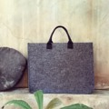 Made to Order By Lapin #bags #bag #pouch #pouchbag #notebookbag #minimalbag #gray #graybag #totebag #lapindesign #fashion #streetstyle #minimal #ถ่ายจากสินค้าจริง #chic #order #LapinDesigns