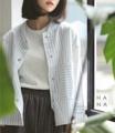 """❁ Miku Line Jacket Jacket แขนยาวคอวี กระดุมแป๊กด้านหน้า มีกระเป๋าสองข้าง ผ้าหนาปานกลางอยู่ทรงสวยใส่กับกระโปรง หรือยีนส์สวยน่ารัก - - - - - - - - - - - - •• มี 2 สี : ลายเส้นสีดำ, ลายเส้นสีฟ้า •• ยาวหน้า 23"""" ยาวหลัง 24"""" อก (ติดกระดุม) 44"""" •• ราคา 690 บาท"""