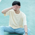 """Jack a dandy Oversized T-shirt  Designed for everyday wear, this simple t-shirt is a relaxed fit with comfortable oversized proportions.  Chest = 48"""" , Length = 28"""""""
