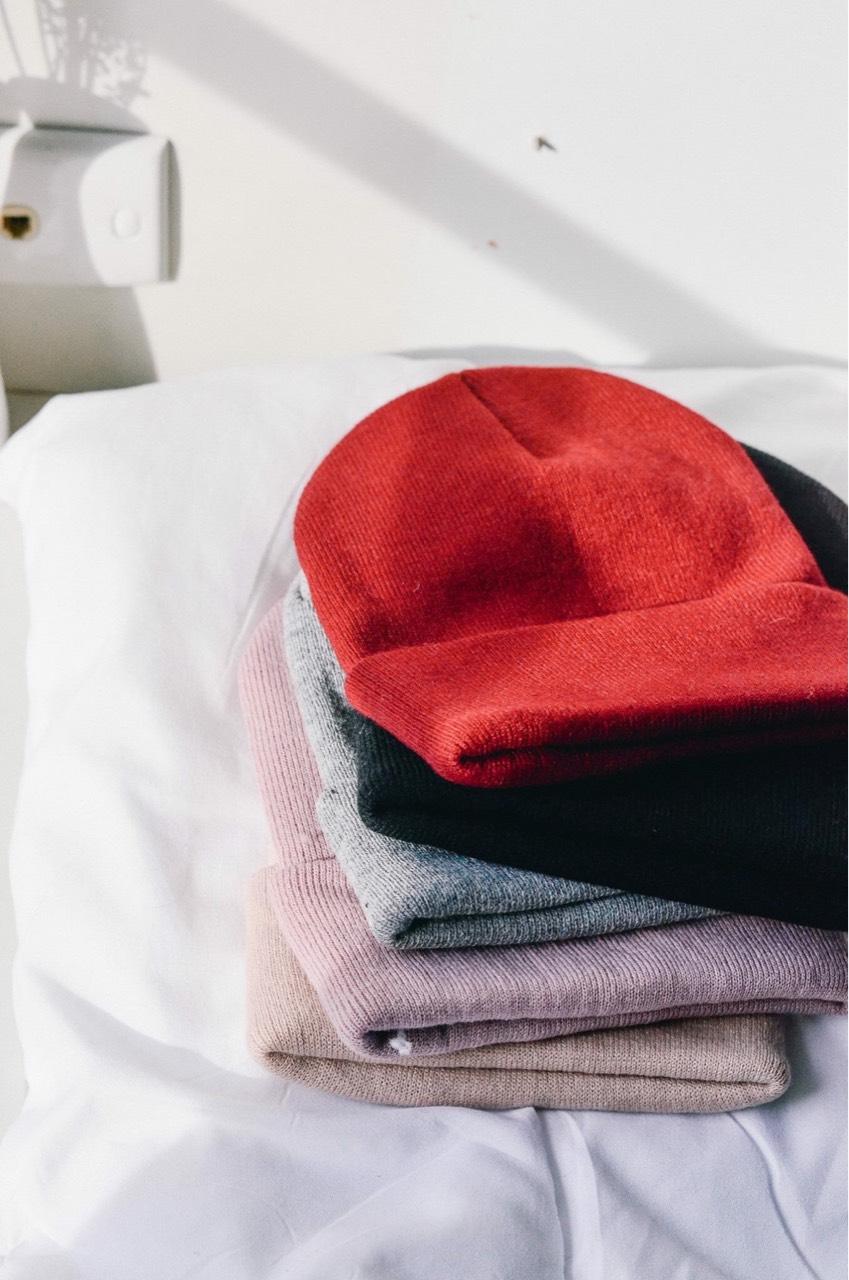 Overbears,หมวก,หมวกไหมพรม
