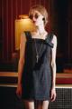 เดรสสีดำ ประดับโบว์ Hade Made ตัวโบว์ขึ้นรูปแข็งอยู่ทรง เนื้อผ้าทอลาย มี Texture พิเศษด้วยเส้นไหมสีดำแวววาว ให้ผู้สวมใส่ได้เจิดจรัส เปล่งประกาย  ✦ Size : S, M  ------------------------------------------------------ #women #ผู้หญิง #เดรส #เดรสสายเดี่ยว #เดรสสีดำ