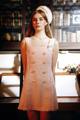 "✒ ""Agatha Dress"" เดรสสีชมพู จากผ้าทอชาแนล Premium เนื้อทอด้วยไหมสีชมพู-ขาว มีTextureพิเศษ ตัดแต่งลูกไม้หัวใจสีชมพูเน้น Shape คุณให้ฟรุ้งฟริ้งขึ้น ตกแต่งเพิ่มด้วย ป้ายเข็มกลัดสุดน่ารักงานปัก TALE OF TALES ประดับโบว์ ถอดเข้า-ออกได้ ✦ Price : 2,790 THB ✦ Size : S, M"